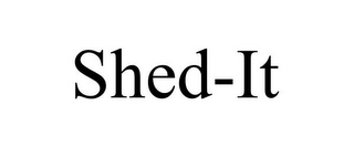 mark for SHED-IT, trademark #85625297