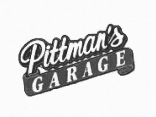 mark for PITTMAN'S GARAGE, trademark #85625774