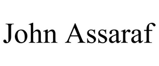 mark for JOHN ASSARAF, trademark #85625994