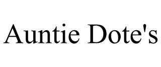mark for AUNTIE DOTE'S, trademark #85626018
