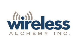 mark for WIRELESS ALCHEMY INC., trademark #85626155
