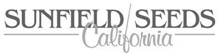 mark for SUNFIELD SEEDS CALIFORNIA, trademark #85626182