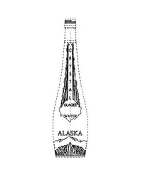mark for CRYSTAL GLACIER WATER ALASKA, trademark #85626438