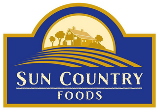 mark for SUN COUNTRY FOODS, trademark #85627033