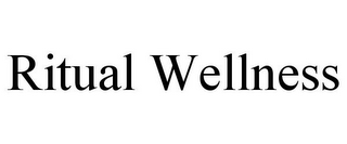mark for RITUAL WELLNESS, trademark #85627078