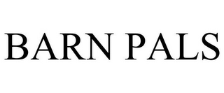 mark for BARN PALS, trademark #85627577