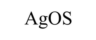 mark for AGOS, trademark #85627584