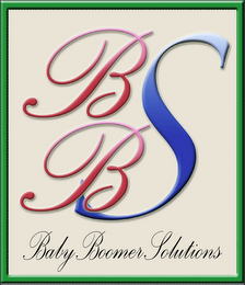 mark for BBS BABY BOOMER SOLUTIONS, trademark #85627696