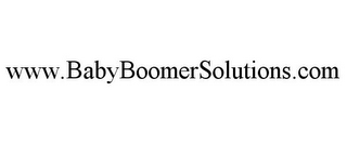 mark for WWW.BABYBOOMERSOLUTIONS.COM, trademark #85627699
