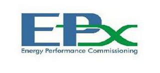 mark for EPX ENERGY PERFORMANCE COMMISSIONING, trademark #85627849