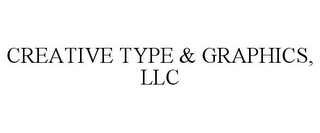 mark for CREATIVE TYPE & GRAPHICS, LLC, trademark #85628261