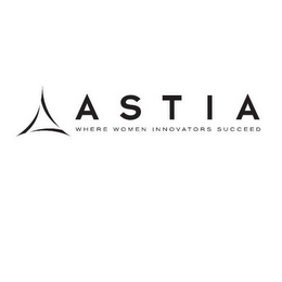 mark for ASTIA WHERE WOMEN INNOVATORS SUCCEED, trademark #85628345