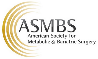 mark for ASMBS AMERICAN SOCIETY FOR METABOLIC & BARIATRIC SURGERY, trademark #85628368