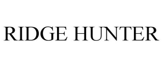mark for RIDGE HUNTER, trademark #85628594
