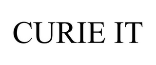 mark for CURIE IT, trademark #85628736
