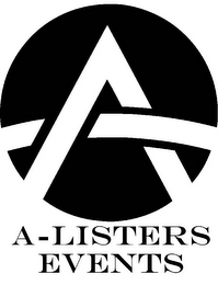 mark for A-LISTERS EVENTS, trademark #85628741