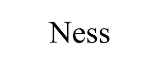 mark for NESS, trademark #85629470