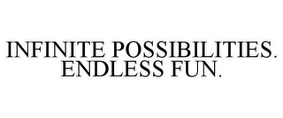 mark for INFINITE POSSIBILITIES. ENDLESS FUN., trademark #85629912