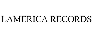 mark for LAMERICA RECORDS, trademark #85630057