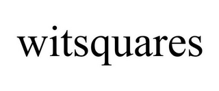 mark for WITSQUARES, trademark #85630110