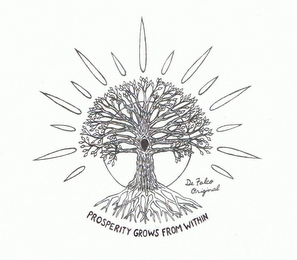 mark for PROSPERITY GROWS FROM WITHIN DE FALCO ORIGINAL, trademark #85630198