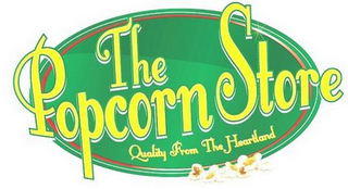 mark for THE POPCORN STORE QUALITY FROM THE HEARTLAND, trademark #85630719