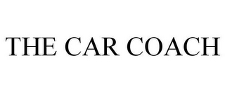 mark for THE CAR COACH, trademark #85630815