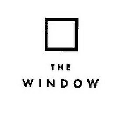 mark for THE WINDOW, trademark #85630833