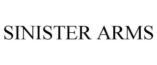 mark for SINISTER ARMS, trademark #85630841