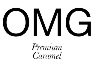 mark for OMG PREMIUM CARAMEL, trademark #85631071