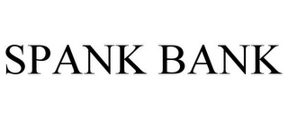 mark for SPANK BANK, trademark #85631074