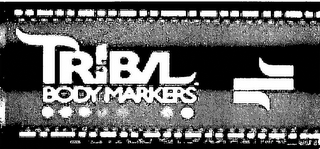 mark for TRIBAL BODY MARKERS, trademark #85631205