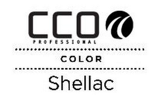 mark for CCO PROFESSIONAL CC COLOR SHELLAC, trademark #85631273