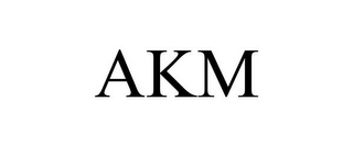mark for AKM, trademark #85631484