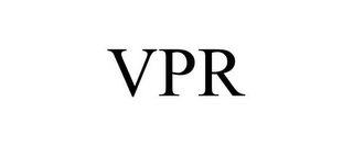 mark for VPR, trademark #85631730