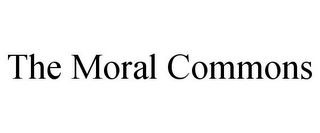 mark for THE MORAL COMMONS, trademark #85631794