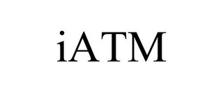 mark for IATM, trademark #85631836