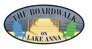 mark for THE BOARDWALK ON LAKE ANNA, trademark #85631841