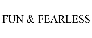 mark for FUN & FEARLESS, trademark #85631884