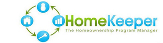 mark for HOMEKEEPER THE HOMEOWNERSHIP PROGRAM MANAGER, trademark #85631945