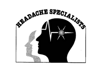 mark for HEADACHE SPECIALISTS, trademark #85631971
