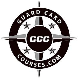 mark for GUARD CARDCOURSES.COM GCC, trademark #85631998