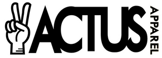 mark for ACTUS APPAREL, trademark #85632022