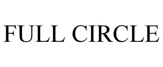 mark for FULL CIRCLE, trademark #85632051