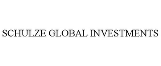 mark for SCHULZE GLOBAL INVESTMENTS, trademark #85632327