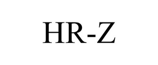 mark for HR-Z, trademark #85632361