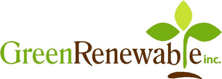 mark for GREEN RENEWABLE INC., trademark #85632590