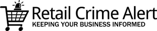 mark for RETAIL CRIME ALERT KEEPING YOUR BUSINESS INFORMED, trademark #85632901