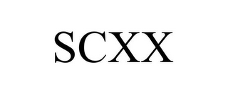 mark for SCXX, trademark #85632943