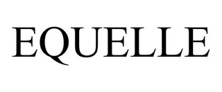mark for EQUELLE, trademark #85632950